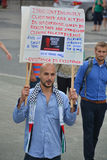 Palestinian man Stock Image