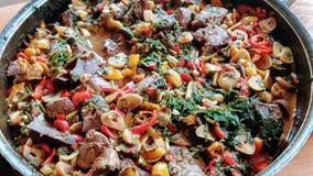 Palestinian meat dish stock photos