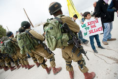 Palestinian nonviolent activism Royalty Free Stock Photos