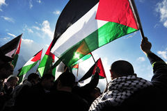 Palestinian People Stock Image