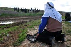 Palestinian People Praying Stock Images