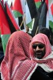 Palestinian People Protesting Stock Photos