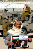 Palestinian prisoners Stock Image