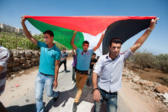 Palestinian protest Royalty Free Stock Photos