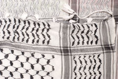 Palestinian scarf Royalty Free Stock Photos