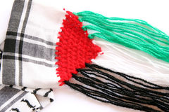 Palestinian scarf Royalty Free Stock Image