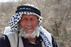Palestinian Villager Stock Photography