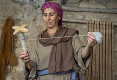 Palestinian weaver Royalty Free Stock Photos