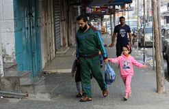 Free Palestinians Return To Normal Life In Rafah, Southern Gaza Strip Royalty Free Stock Photo - 163995375