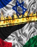 Palestinsk israelisk konflikt royaltyfria bilder