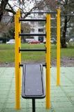 Palestra all'aperto per l'allenamento e la ginnastica della via Fotografie Stock