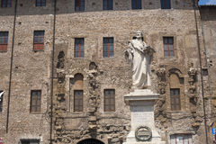 Palestrina (Italië) - Standbeeld van Pierluigi DA P. stock foto's