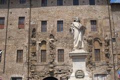 Palestrina (Italia) - statua di Pierluigi da P. Fotografie Stock