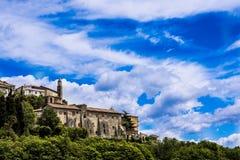 Palestrina miasta krajobraz Fotografia Stock