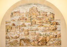 Palestrina - The Nile Mosaic Royalty Free Stock Photography