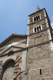 Palestrina (Rom) - Kathedralefassade Lizenzfreies Stockfoto
