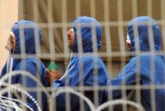 Palestyńczyków więźniowie Fotografia Royalty Free