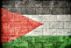 Palestyna flaga Zdjęcie Royalty Free