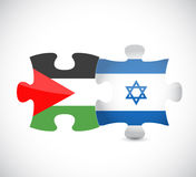 Palestyna i Israel ilustracyjny projekt royalty ilustracja