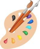 Palet vector illustratie