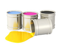 Palet CMYK Stock Foto's