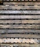 palet drewnianych Obrazy Stock