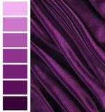 Palet van de kleuren het vleiende grafiek royalty-vrije stock afbeeldingen
