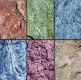 Palet van in kleuren van het jaar van 2017 Royalty-vrije Stock Foto's