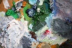 Paleta 2 de los artistas imágenes de archivo libres de regalías