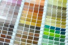 Paleta coloreada Imágenes de archivo libres de regalías