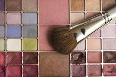Paleta da composição Fotografia de Stock