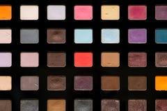 Paleta da sombra para os olhos fotografia de stock royalty free
