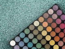 Paleta da sombra para os olhos Imagens de Stock