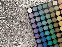 Paleta da sombra para os olhos Imagem de Stock Royalty Free