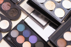 Paleta da sombra para os olhos para a composição profissional Fotos de Stock Royalty Free