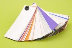 Paleta de colores Fotografía de archivo libre de regalías