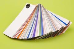 Paleta de colores Imagen de archivo libre de regalías
