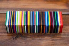 Paleta de colores del arco iris foto de archivo libre de regalías