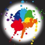 Paleta de colores para el diseño stock de ilustración