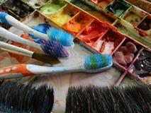Paleta de cor Fotos de Stock