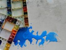 Paleta de cor Imagem de Stock Royalty Free