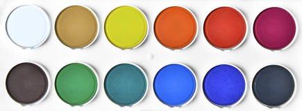 Paleta de cor Imagem de Stock