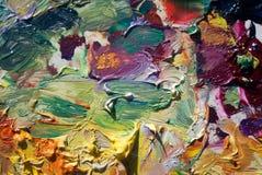 Paleta de cores Fotografia de Stock Royalty Free