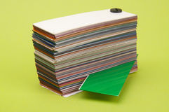 Paleta de cores Imagem de Stock Royalty Free