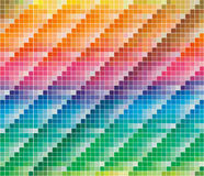 Paleta de cores de CMYK para o fundo abstrato Foto de Stock