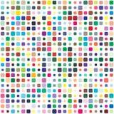 Paleta de cores do vetor 484 cores diferentes Os detalhes dispersaram caoticamente ilustração royalty free