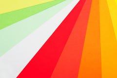 A paleta de cores listra o fundo Imagens de Stock