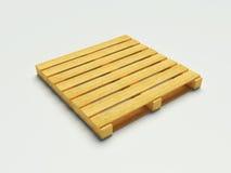 Paleta de madera Foto de archivo libre de regalías