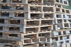 Paleta de madera Imagen de archivo libre de regalías