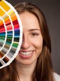 Paleta de Pantone Imagem de Stock Royalty Free